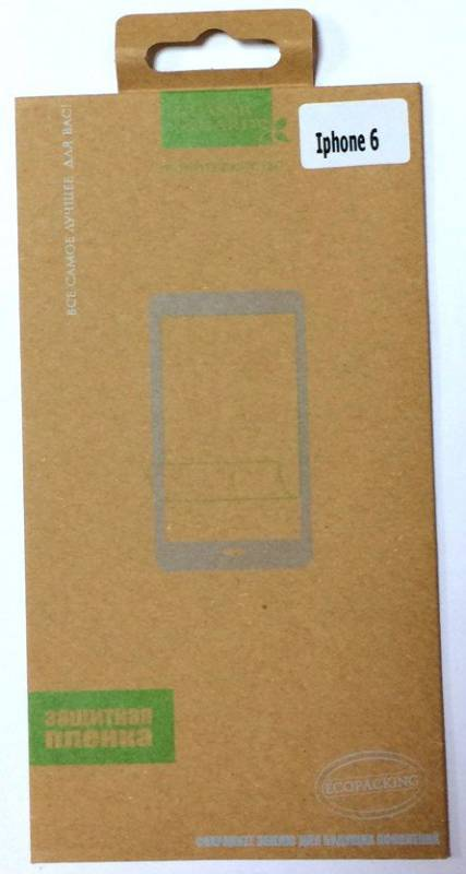 52244/ Защитная пленка Iphone 6 матовая