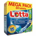 Таблетки для ПММ All-in-1 LOTTA MEGA PACK 60 таб.