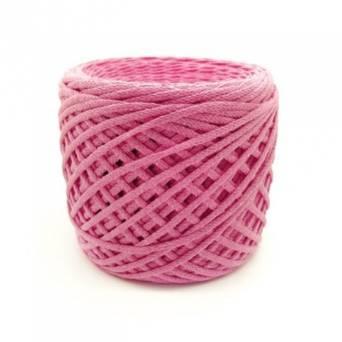 Хлопковый шнур 3 мм. Цвет: Ярко-розовый