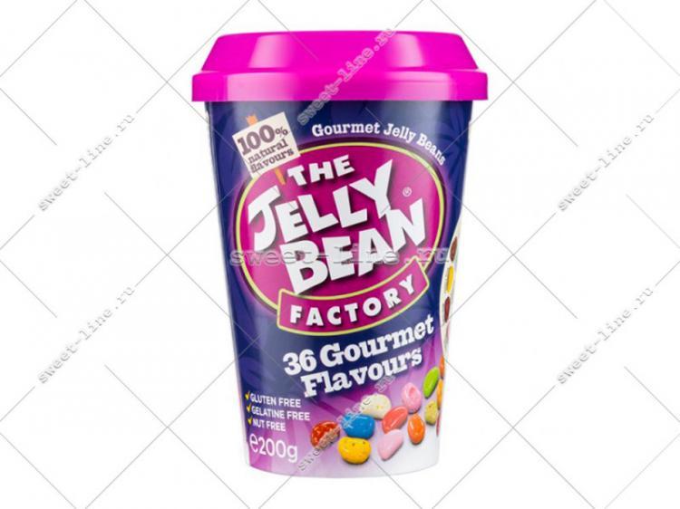 "Драже ""Ассорти 36 вкусов"" стакан 200гр х 6 /The Jelly Bean Factory/ Ирландия/"