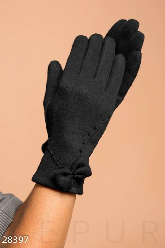Перчатки из трикотажа