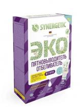 Пятновыводитель-отбеливатель SYNERGETIC с активным кислородом, 10 стиков