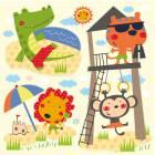 Стикер HMB 1008 Летние каникулы