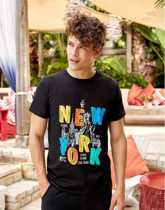 Мужская футболка Berrak 4070