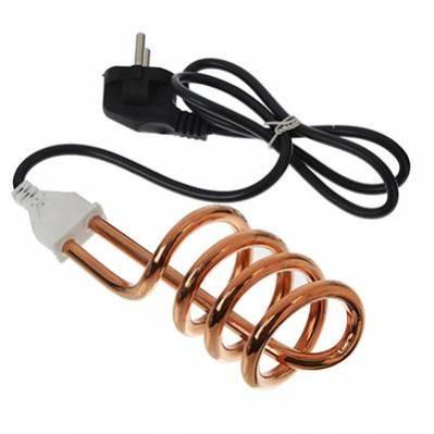 Электрокипятильник 2500Вт,220В,шнур 90см,погружная часть 15 см