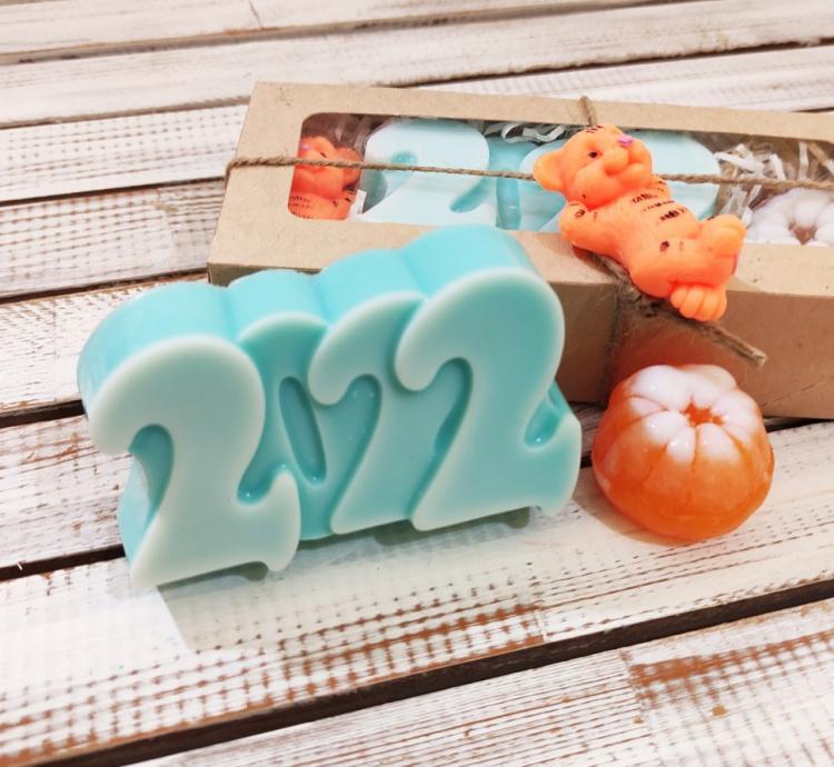 Набор подарочного мыла ручной работы Кайфовый Новый Год арт.004709