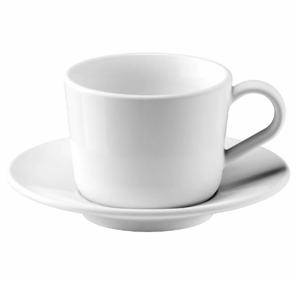 ИКЕА/365+ Чашка с блюдцем, белый13 сл