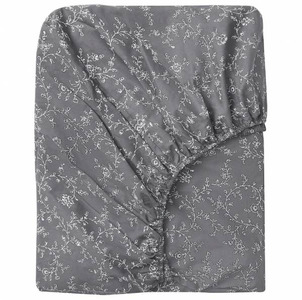 КОППАРРАНКА Простыня натяжная, с цветочным орнаментом160x200 см