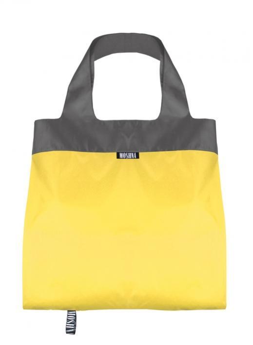 Сумка Дуэт, желто-серый