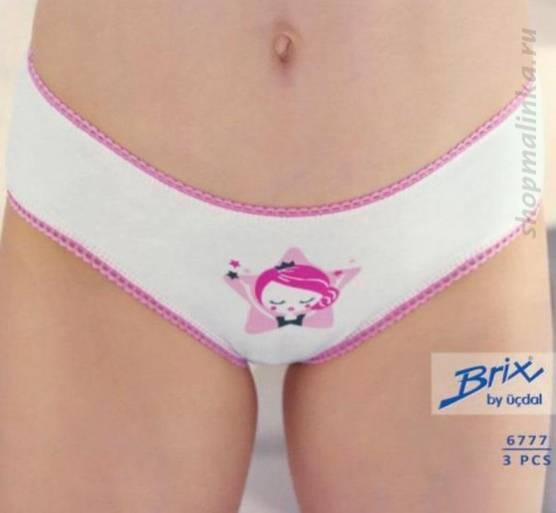 Трусы для девочки Brix 6777 (3шт)