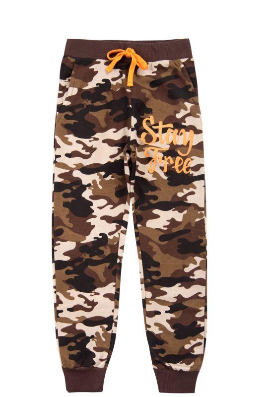 Утепленные брюки для мальчика LE&LO