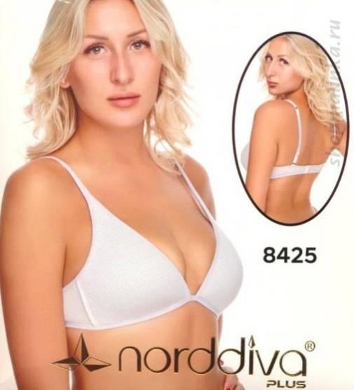 Бюстгальтер формованная чашка Norddiva 8425 B cotton