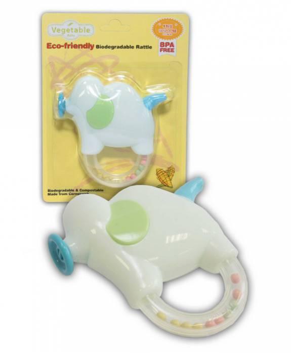 Погремушка Elephant Vegetable Baby (+6мес) 8809198373291