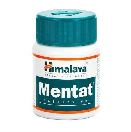 Ментат таблетки Хималая (мозговой тоник) Mentat Tablets Himalaya 60 табл.