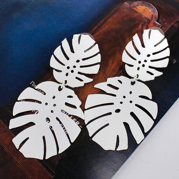 Серьги «City chik» матовое серебро